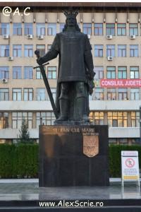 Statuia din centrul Vasluiului
